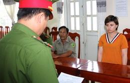 Bắt tạm giam bảo mẫu bạo hành trẻ ở An Giang