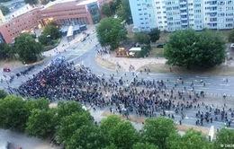 Biểu tình biến thành bạo động tại Đức