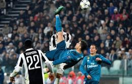 Ronaldo ẵm giải Bàn thắng đẹp nhất mùa 2017/18