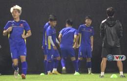 ASIAD 2018: ĐT Olympic Việt Nam tập buổi duy nhất làm quen sân đấu trận bán kết