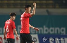 Olympic Hàn Quốc còn có 2 cầu thủ lợi hại hơn cả Son Heung-min tại ASIAD 2018