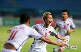 Văn Toàn ghi bàn, Việt Nam lần đầu tiên vào bán kết ASIAD