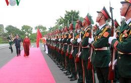 Chủ tịch Quốc hội dự kỷ niệm 20 năm ngày truyền thống Cảnh sát biển