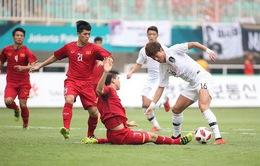 Olympic Việt Nam vào tranh HCĐ sau thất bại trước Olympic Hàn Quốc