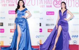 Cùng diện đầm xẻ cao táo bạo, Hoa hậu Kỳ Duyên, Đỗ Mỹ Linh khéo khoe chân thon