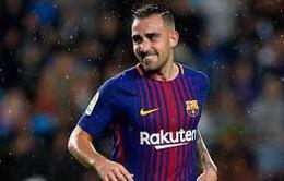 Thêm 1 cầu thủ chia tay Barcelona trong Hè 2018