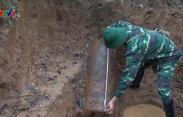 Yên Bái phá hủy quả bom 350 kg