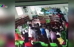 Thực hư thông tin cô giáo xúi các bé đánh bạn