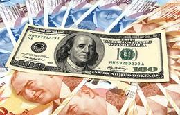 Đồng USD tiếp tục tăng giá so với tiền tệ của Thổ Nhĩ Kỳ, Argentina
