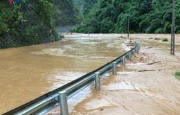 1 người đàn ông mất tích vì mưa lũ ở Sơn La