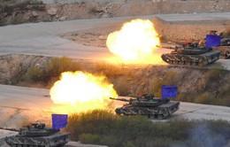 Mỹ sẽ nối lại tập trận trên bán đảo Triều Tiên