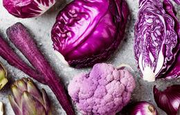 Thực phẩm màu tím có lợi nhiều mặt cho sức khỏe như thế nào?