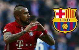 Báo Đức lý giải vì sao Barca có Vidal trước mũi Inter Milan