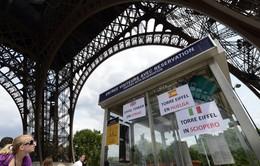 Tháp Eiffel đóng cửa do đình công