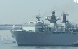 Hải quân Anh tham gia huấn luyện các đơn vị Lực lượng Phòng vệ Nhật Bản