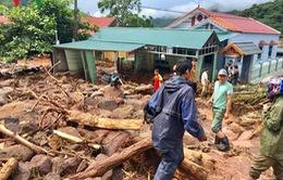 Tập trung lực lượng khắc phục hậu quả mưa lũ tại Điện Biên