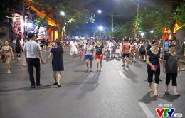 Phố đi bộ hồ Hoàn Kiếm sẽ được mở cửa đến hết ngày 3/9