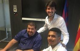 """Barca sở hữu """"ngọc quý"""" của bóng đá Uruguay"""