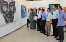 """Triển lãm mỹ thuật """"Chủ tịch Hồ Chí Minh trong sáng tác của các nghệ sĩ tạo hình"""""""