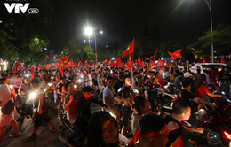 Hơn 1.000 cảnh sát ra quân đảm bảo an toàn sau trận bóng đá Việt Nam - Hàn Quốc