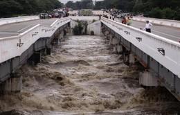 Vỡ đập ở Myanmar, 50.000 người phải sơ tán