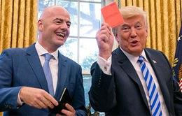 Tổng thống Donald Trump gặp Chủ tịch FiFA Infantino bàn về World Cup 2026