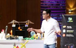 """Shark Tank Việt Nam - Tập 9: Chen nhầm chân vào thị trường """"ngách"""", startup công nghệ 3D hụt đầu tư"""