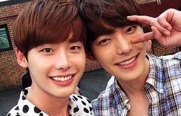 Vừa hồi phục, Kim Woo Bin đã vi vu cùng bạn thân Lee Jong Suk