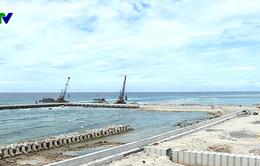 Quảng Ngãi khẩn trương hoàn thành Cầu cảng Bến Đình vào dịp 2/9