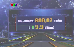 VN-Index tiến sát mốc 1.000 điểm