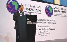 Thúc đẩy quan hệ tốt đẹp nhiều mặt giữa Việt Nam với Nam Phi và các nước kiêm nhiệm