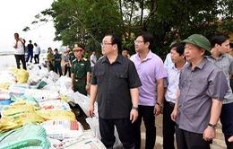 Bí thư Thành ủy Hà Nội: Không chủ quan vì ngập ở Chương Mỹ còn dài