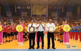 Ảnh: Những khoảnh khắc ấn tượng trong Lễ khai mạc Giải bóng chuyền nữ Quốc tế VTV Cup Ống nhựa Hoa Sen 2018