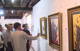 Hơn 50 tác phẩm trưng bày tại Triển lãm mỹ thuật kết nối đôi bờ sông Mekong