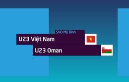 VIDEO Tổng hợp trận đấu: U23 Việt Nam 1-0 U23 Oman