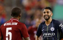"""""""Đại gia"""" nhòm ngó Riyad Mahrez, Man City sẵn lòng gật đầu"""