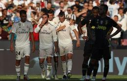Ngược dòng trước Juventus, Real có trận thắng đầu tiên tại ICC 2018