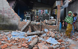Động đất tại Indonesia: Tăng cường gửi đồ cứu trợ đến khu vực đảo Lombok