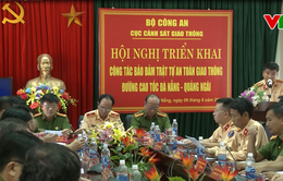 Hội nghị triển khai công tác bảo đảm trật tự ATGT cao tốc Đà Nẵng - Quảng Ngãi