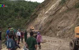 Lai Châu: Nổ mìn thông các tuyến đường tại huyện Phong Thổ