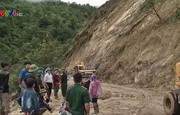 Lai Châu nỗ lực thông đường Dào San - Vàng Ma Chải sau mưa lũ