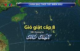 Áp thấp gây mưa dông, gió giật mạnh trên Biển Đông