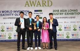 Việt Nam đạt thành tích cao tại Olympic Phát minh và Sáng chế thế giới