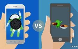 """Android 9 Pie ra mắt, Android 8 Oreo vẫn đang rất """"chơi vơi"""""""