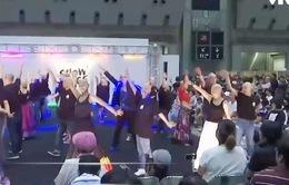 Lễ hội đặc biệt dành cho người hói đầu tại Nhật Bản