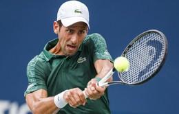 Novak Djokovic dễ dàng vượt qua vòng 2 Rogers Cup