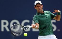 Vòng 2 Rogers Cup 2018: Djokovic dễ dàng hạ gục Polansky