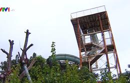 Công viên Tuổi trẻ xuống cấp nghiêm trọng và bị sử dụng sai mục đích