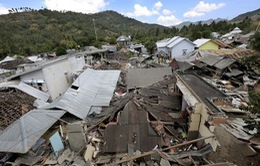 Tiếp tục động đất tại Lombok, nhân viên khách sạn phải điều trị sang chấn tâm lý