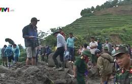Lai Châu tiếp tục tìm kiếm các nạn nhân mất tích sau mưa lũ